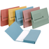 5 Star A4 285gsm Assorted Document Wallets (50 Pack)