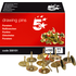 5 Star Box of 150 Brass Drawing Pins