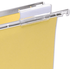 5 Star White Card Inserts for Clenched Bar Suspension File Tabs (50 Pack)