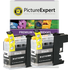 Brother LC-123BK Compatible Black Ink Cartridge TWINPACK