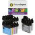Brother LC1100 Bk/C/M/Y Compatible Black & Colour 10 Ink Cartridge Pack