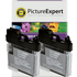 Brother LC1100BK Compatible Black Ink Cartridge TWINPACK
