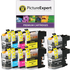 Brother LC127XL & LC125XL Compatible High Capacity Ink Cartridge 10 Pack