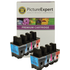 Brother LC900 Bk/C/M/Y Compatible Black & Colour 8 Ink Cartridge Pack