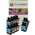 Brother LC900 Compatible Black & Colour Ink Cartridge 10 Pack