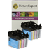 Brother LC980 Bk/C/M/Y Compatible Black & Colour 8 Ink Cartridge Pack