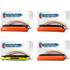 Brother TN-130 Bk/C/M/Y Compatible Black & Colour Toner Cartridges