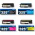 Brother TN-325BK/C/M/Y Original High Capacity Black & Colour Toner Cartridge 4 Pack