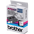 Brother TX-251 Original P-Touch Black on White Tape 24mm x 15m