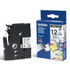 Brother TZ-FA3 Original P-Touch Blue on White Textile Tape 12mm x 3m