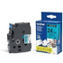 Brother TZE-551 Original P-Touch Black On Blue Tape - 24mm x 8m