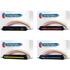 Canon 707 Bk,C,M,Y Compatible Black & Colour Toner Cartridge Multipack
