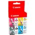 Canon BCI-6 Bk/ C/ M/ Y Original Black & Colour Ink Cartridge 4 Pack