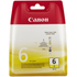 Canon BCI-6Y Original Yellow Ink Cartridge