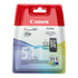 Canon CL-511 Original Standard Capacity Colour Ink Cartridge