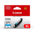 Canon CLI-571CXL Original High Capacity Cyan Ink Cartridge