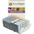 Canon CLI-571XL BK/C/M/Y Compatible High Capacity Black & Colour Ink Cartridge 4 Pack