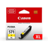Canon CLI-571YXL Original High Capacity Yellow Ink Cartridge