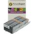 Canon CLI-8 BK/C/M/Y Compatible Black & Colour Ink Cartridge 10 Pack