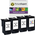 Canon PG-512 Compatible Black x 3 & CL-513 x 1 Compatible Colour Ink Cartridge 4 Pack