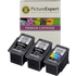 Canon PG-540XL x2 & CL-541XL x1 Compatible High Capacity Black and Colour Ink Cartridge 3 Pack