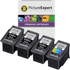 Canon PG-540XL x3 & CL-541XL x1 Compatible High Capacity Black and Colour Ink Cartridge 4 Pack
