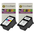 Canon PG-545XL & CL-546XL Compatible High Capacity Black & Colour Ink Cartridge 2 Pack