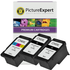 Canon PG-545XL x2 & CL-546XL x1 Compatible High Capacity Black & Colour Ink Cartridge 3 Pack