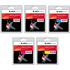 Canon PGI-550PGBKXL/ CLI-551XL BK/C/M/Y AGFA Premium Compatible High Capacity Black & Colour Ink Cartridge 5 Pack