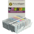 Canon PGI-550XL/CLI-551XL Compatible Black & Colour Ink Cartridge 6 Pack (incl. Grey)