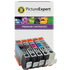 Canon PGI-72 PBK/GY/PM/PC/CO Compatible Ink Cartridge Multipack