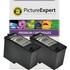 Dell 592-10209 /MK990 (592-10211, MK992) Compatible Black Ink Cartridge TWINPACK