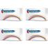Dell 593-10312, 13,14,15 (593-10320, 21, 22, 23) BK,C,M,Y Multipack of Compatible Toner Cartridge