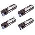Dell 593-10316/17/19/18 (593-10324/25/27/26) Original (BK/C/M/Y) Toner Cartridge Multipack