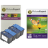 Dell 7Y743 x 2 / 7Y745 x 2 Compatible Black & Colour Ink Cartridge 4 Pack with Photo Paper