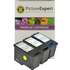 Dell KX701, KX703 (Series 11) Compatible Black x 2 & Colour x 1 Standard Capacity Ink Cartridge Pack