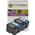 Dell MK990 / MK991 Compatible Black & Colour Ink Cartridge 4 Pack