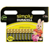 Duracell 12 Pack Simply AAA Batteries