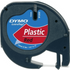 Dymo LetraTAG 91203 Red Plastic Tape - 12mm x 4m
