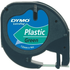 Dymo LetraTAG 91204 Green Plastic Tape - 12mm x 4m