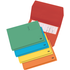 Elba Bright Foolscap Assorted Document Wallets (Pack 5)