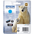 Epson 26 (T2612) Original Cyan Ink Cartridge