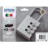 Epson 35 (T3586) Original Black & Colour Ink Cartridge 4 Pack