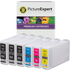 Epson 79XL (T7901/2/3/4) Compatible High Capacity Black & Colour Ink Cartridge 6 Pack