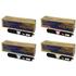Epson C13S050557/56/55/54 (BK/C/M/Y) Original High Yield Black & Colour Toner Cartridge Multipack