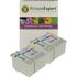 Epson T007 / T008 Compatible Black & Colour Ink Cartridge 4 Pack
