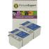 Epson T007 / T009 Compatible Black & Colour Ink Cartridge 4 Pack