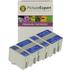 Epson T013 / T014 Compatible Black & Colour Ink Cartridge 4 Pack