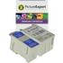 Epson T017 / T018 Compatible Black & Colour Ink Cartridge 2 Pack