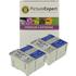 Epson T028 / T029 Compatible Black & Colour Ink Cartridge 4 Pack